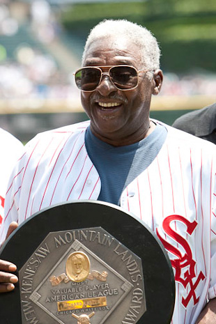 Dick Allen and his 1972 Most Valuable Player Award
