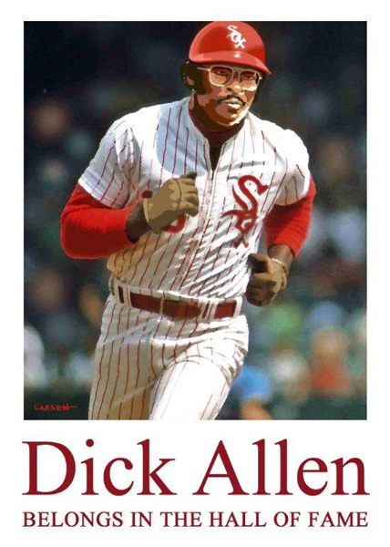 Dick Allen belongs in the Baseball Hall of Fame. Photo courtesy of Dr. David Fletcher, M.D.