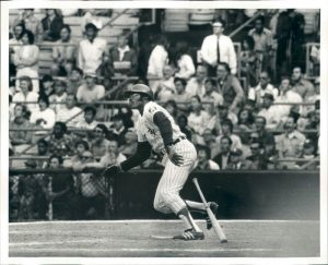 Dick Allen slugged a three-run homer for the sweep with a 4-2 deficit, two on and one out in the ninth on June 4, 1972. Not expecting to be used, Allen was in the clubhouse and hurriedly dressed, apparently getting wiener condiments on his jersey.