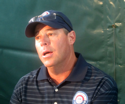 Jim Frey claimed he would have re-upped Greg Maddux (pictured) to his desired long-term contract if he had been GM during the negotiations.