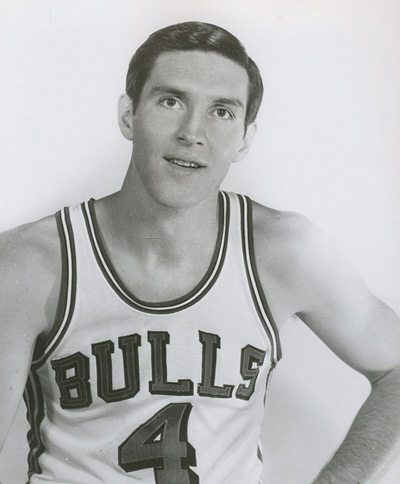 Jerry Sloan was an original Bull when Jack Brickhouse began telecasting the NBA team's games in 1966.