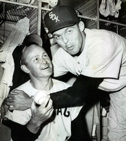 Lopez, Landis mark 35 years since they teamed for 1959 Sox pennant - This CBM vintage baseball podcast features Al Lopez, and center fielder Jim Landis.