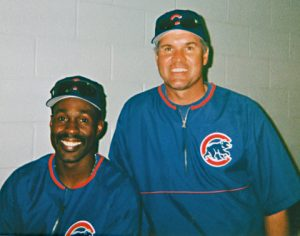 Shawon Dunston (left) was drafted No. 1 over Dwight Gooden in 1982 and teamed with Ryne Sandberg (right) as the Cubs' double-play combo for the better part of a decade.