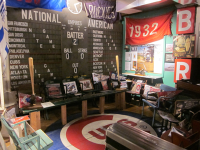 Cubs fans who flock to Coors Field in big numbers will see a taste of Wrigley Field at the National Ballpark Museum.